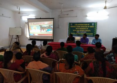 Live Telecast of Hon'ble Prime Minister with SHGs