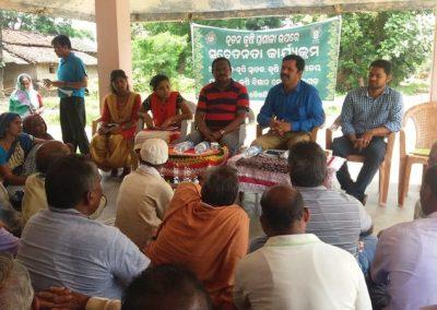 RAWE programme at Village Chheplipali, Tileibani block
