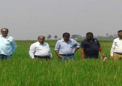 BPH diagnostic field visit with DDA, DAO and other Govt Officers