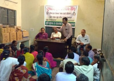 BPH awareness camp at Barkote block with District Agriculture department