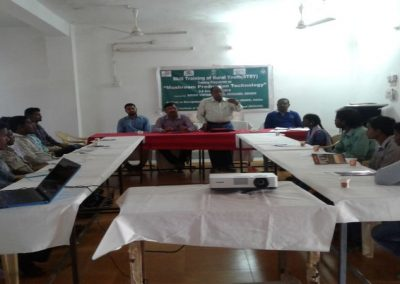 7 days training for rural youths from STRY on commercial mushroom production technology